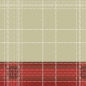 Preview: Serviette Highland Rosso 40x40