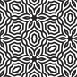 Preview: Serviette Black & White 40x40 Nr. 1
