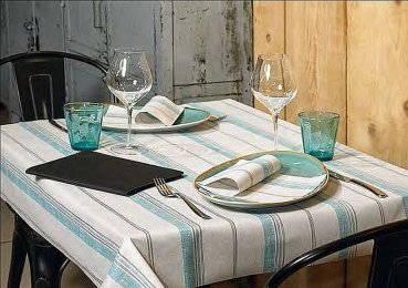 Serviette Holiday Aqua 40x40